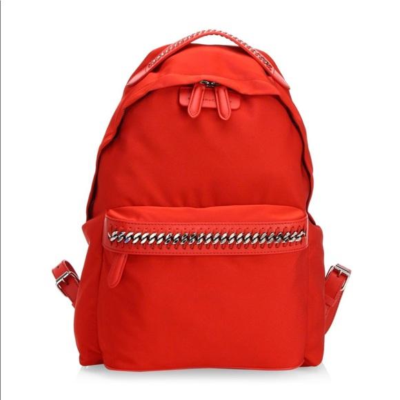 a9a1cd8778e8 Stella McCartney Medium Nylon Falabella Backpack